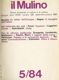 Copertina del fascicolo dell'articolo Partiti e riforme elettorali in Italia