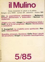 Copertina del fascicolo dell'articolo Dopo i giochi del pluralismo