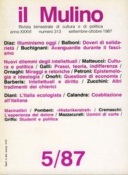 Copertina del fascicolo dell'articolo L'illuminismo oggi