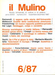 Copertina del fascicolo dell'articolo Videoeuropa. Sviluppo televisivo e nuove tecnologie per gli anni Novanta
