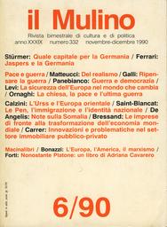 Copertina del fascicolo dell'articolo Jaspers e la Germania