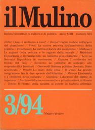 Copertina del fascicolo dell'articolo Le ragioni della politica e le ragioni della morale