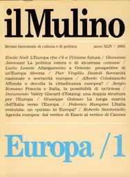 Copertina del fascicolo dell'articolo La cittadinanza europea: affonda o decolla?