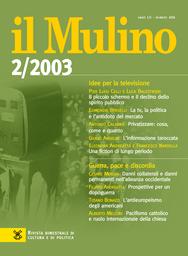 Copertina del fascicolo dell'articolo Il piccolo schermo e il declino dello spirito pubblico