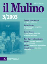 Copertina del fascicolo dell'articolo Una risorsa per l'Europa