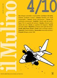 Copertina del fascicolo dell'articolo Il Partito democratico e le asperità del territorio