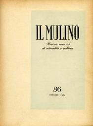 Copertina del fascicolo dell'articolo L'opposizione cattolica e la religiosità italiana