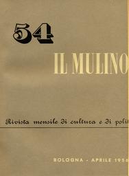Copertina del fascicolo dell'articolo L'opera di Salvemini e i problemi della società italiana