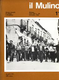 Copertina del fascicolo dell'articolo Un impegno per la Resistenza che continua