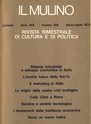 Copertina del fascicolo dell'articolo Il marketing in Italia: aggiornamenti culturali, ritardi operativi e freni sociali