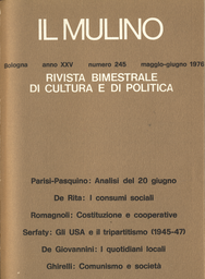 Copertina del fascicolo dell'articolo Critica e dialettica