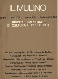 Copertina del fascicolo dell'articolo Sui