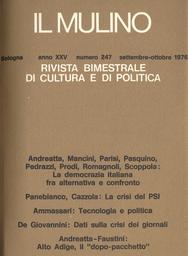 Copertina del fascicolo dell'articolo Dati di una crisi: i quotidiani italiani