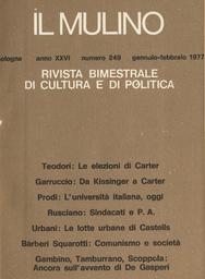 Copertina del fascicolo dell'articolo Comunismo e società: la caduta del monolitismo culturale (con qualche reviviscenza zdanoviana)