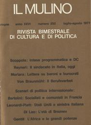 Copertina del fascicolo dell'articolo L'età di Breznev fra stalinismo e riformismo