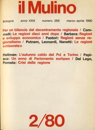 Copertina del fascicolo dell'articolo Il Pci e l'ambigua eredità dell'autunno caldo a Torino